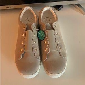 Jack Rogers Suede Sneakers 9.5M